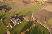 Moderne boerderij.