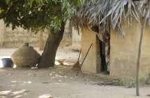 Dorpje in Senegal