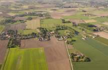 Agrarisch landschap.