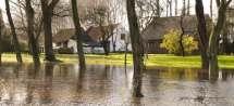 Overstroomde Vliet.