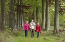 Wandelen in het Bulskampveld.
