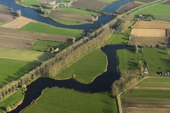 Boerekreek, Bentillekreek en Leopoldkanaal.