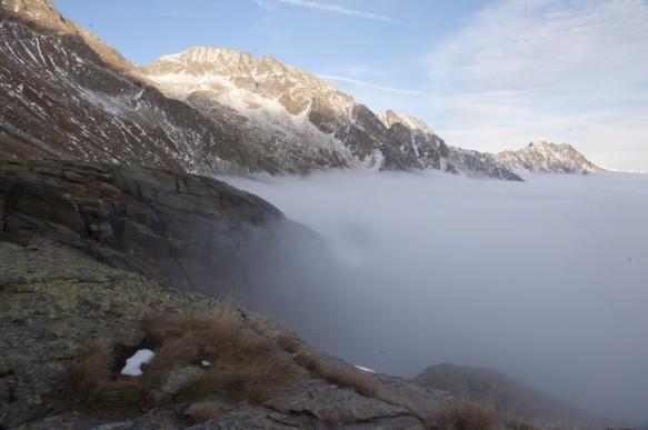 Italiaanse Alpen.