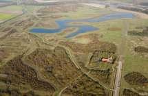 Luchtfoto van de Braakman