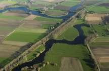 Bentillekreek, Boerekreek en het Leopoldkanaal.