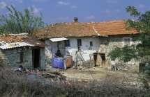 Bulgaars platteland.