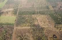 Luchtfoto van het Drongengoed.