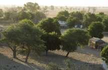 Dorpje op de savanne in Senegal
